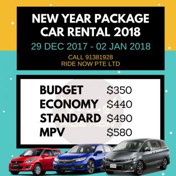 NEW YEAR CAR RENTAL 2018