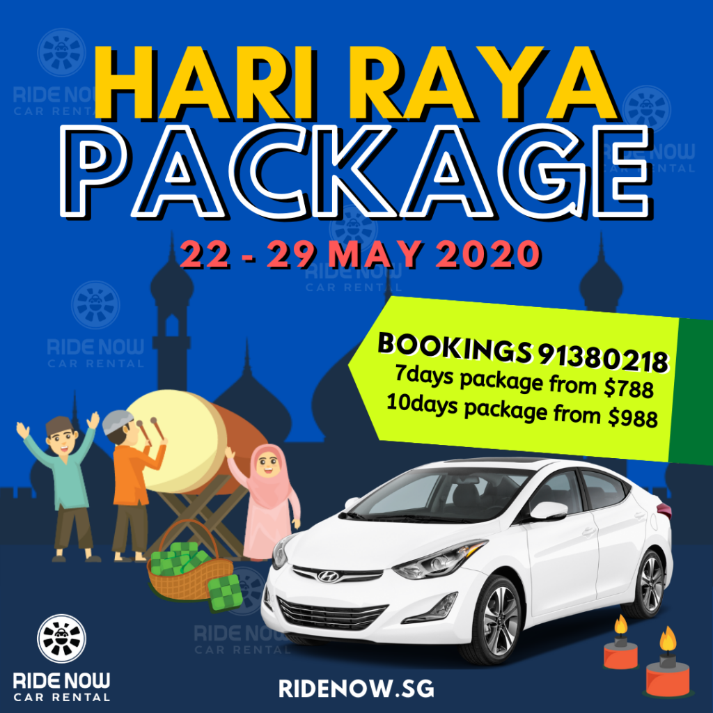 Hari Raya Puasa Car Rental Package 2020