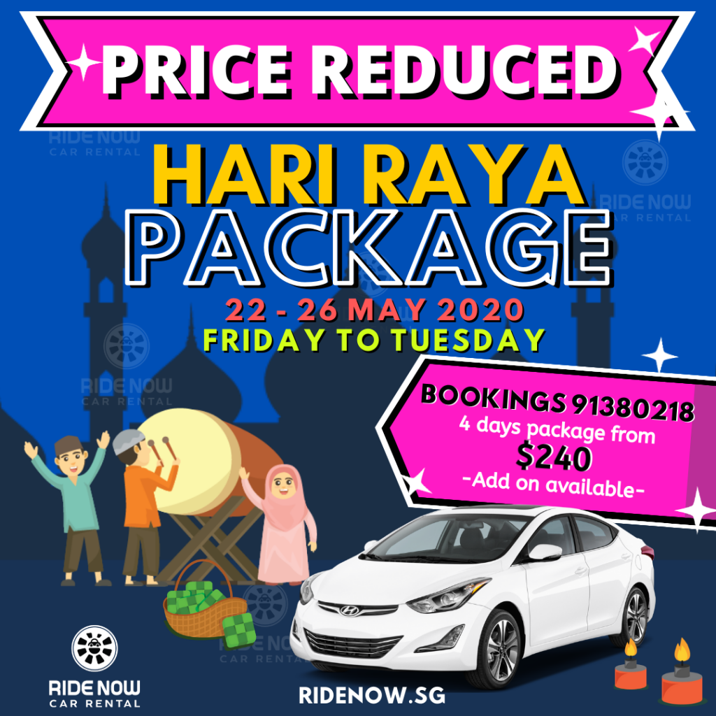Hari Raya Puasa Car Rental Package 2020 2